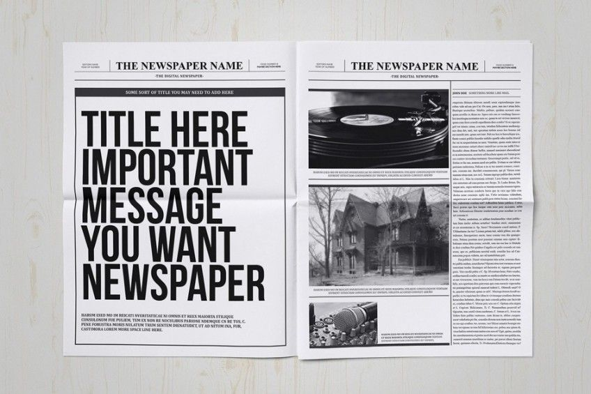 20+ Old Newspaper Template u2013 PSD, Indesign and Ai Format 20+ Old - old newspaper template