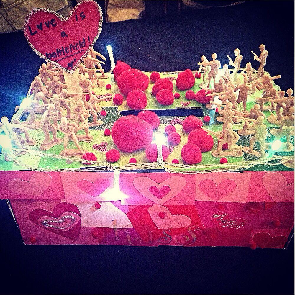 Love is a Battlefield Valentine's Day box