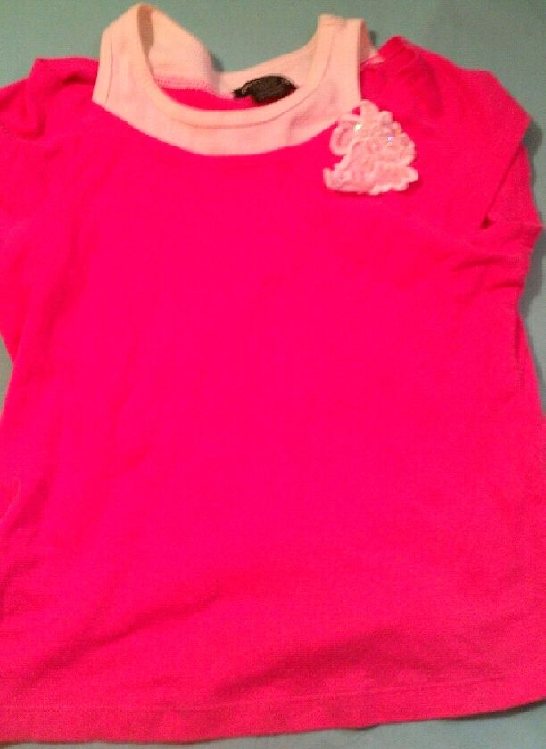 Pink shirt, good for dressing up or just being cute! in JUICY's Garage Sale in Si , LA for $5. CUTE! Email Me:)