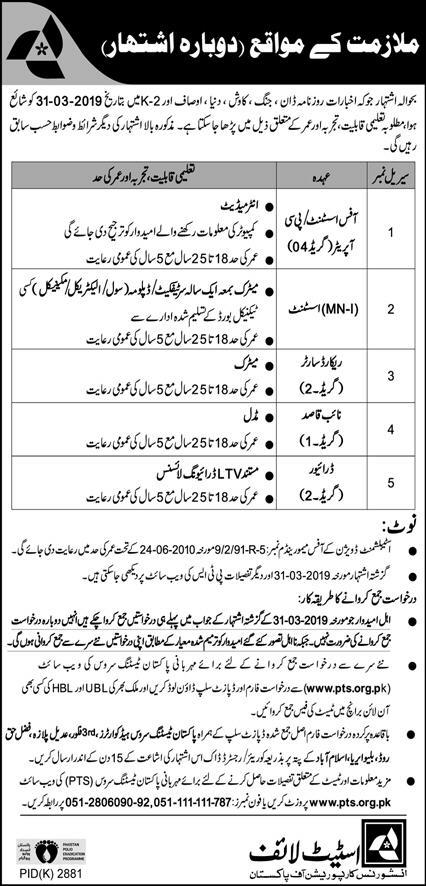 State Life Insurance Corporation Of Pakistan Jobs State Life Insurance Corporation Of Pakistan Islamabad Job 2020 Advertisement In 2020 Life Insurance Corporation Medical Jobs Marketing Jobs