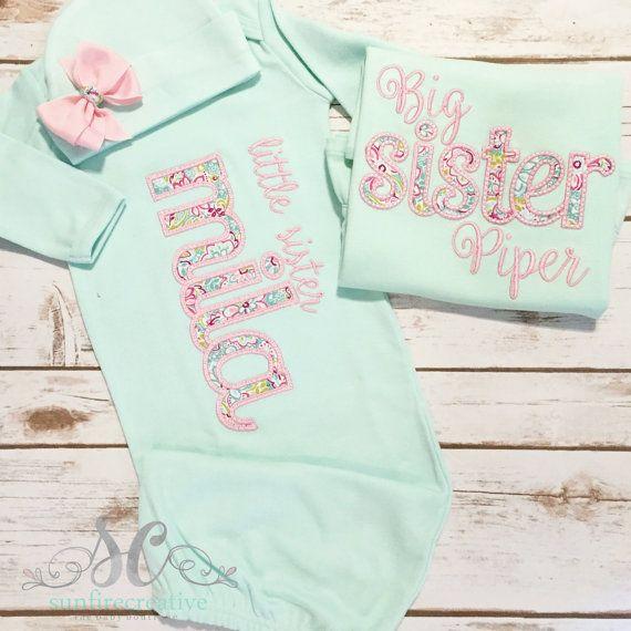 03fd98175bd6b Big Sister Little Sister Outfits -Matching Sister Shirts - Big ...