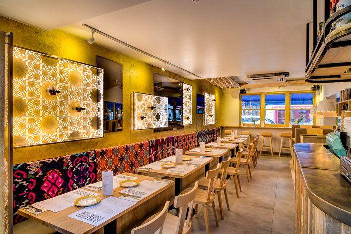 image result for fast casual restaurant design