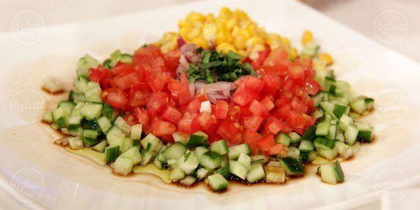 Cbc Sofra طريقة تحضير سلطة الذرة الصفراء شريف عفيفي Recipe Recipes Salad Food