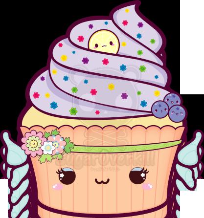 Kawaii Fairy Cupcake by mAi2x-chan.deviantart.com on ...