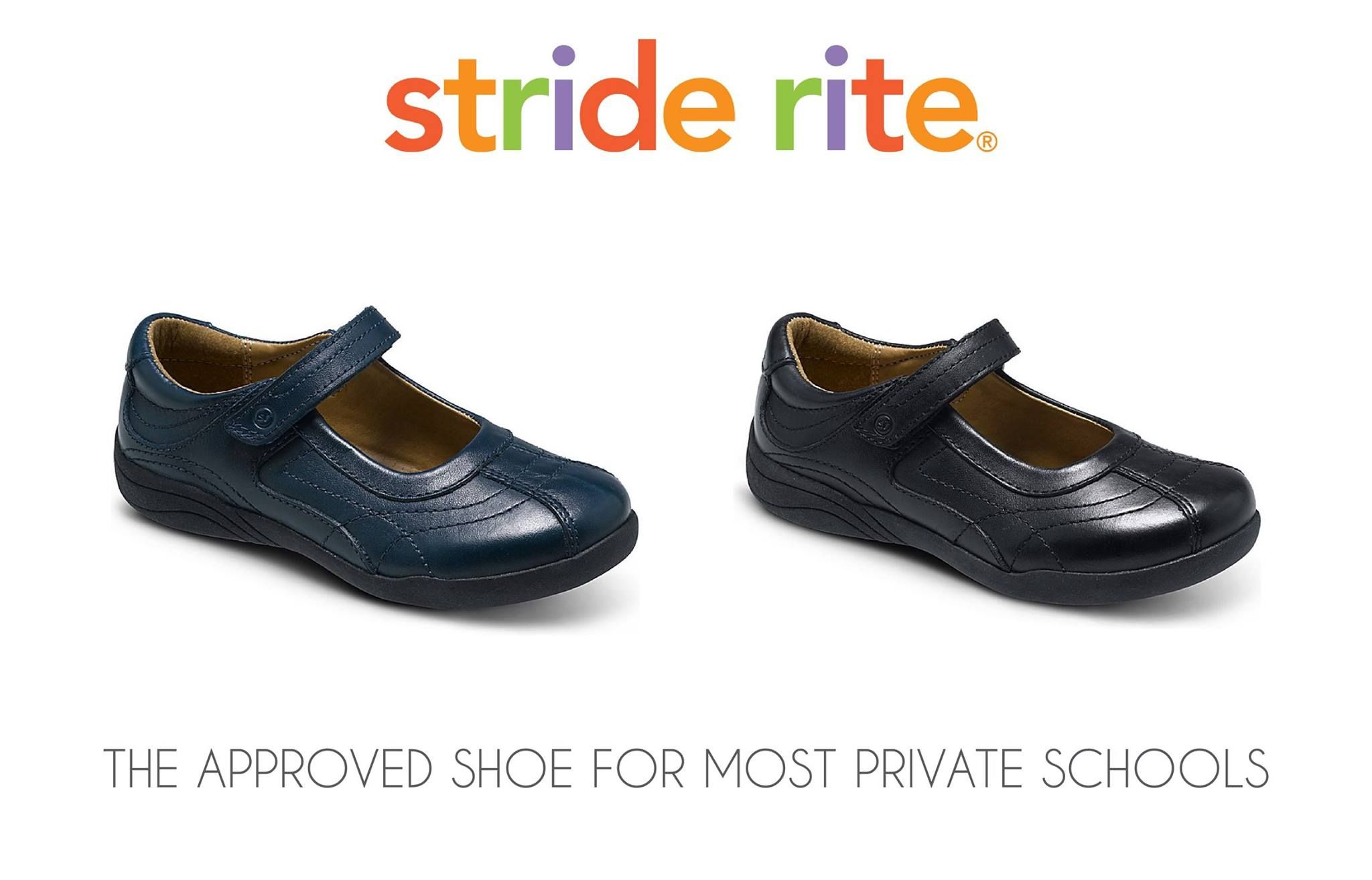 This  Striderite girls maryjane shoe is school approved for most private  schools. 243ef0bad