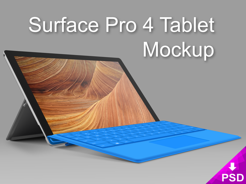 Mockup psd tablet