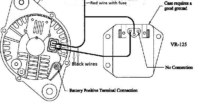 how to make a external voltage regulator for dodge  jeep 1973 F250 1972 F250 Highboy
