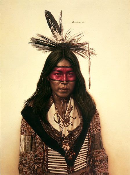 James Bama - Young Indian Dancer
