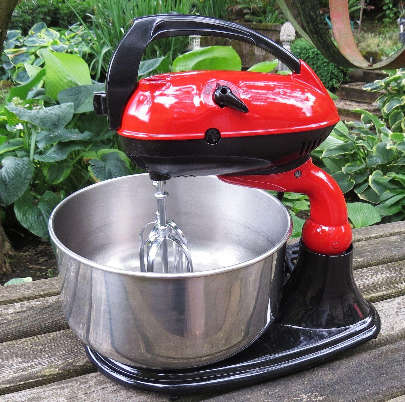 Restored RED & BLACK Vintage 1950\'s Dormeyer Model 3200 Stand Mixer ...