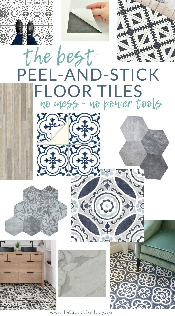 The Best Peel And Stick Vinyl Floor Tile Decals Vinyl Flooring Self Adhesive Floor Tiles Peel And Stick Floor