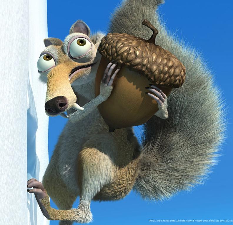 Eichhörnchen Ice Age