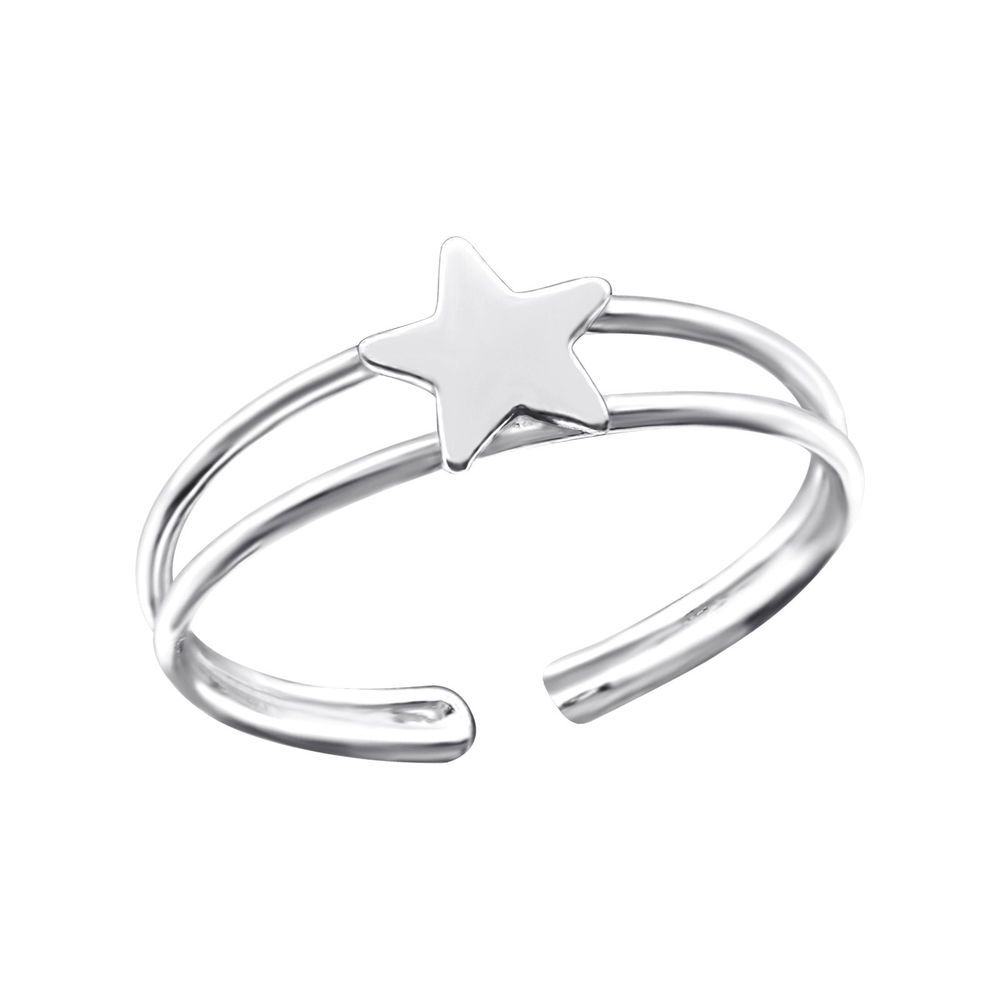 Ring Sterling Silver 925 Polish Rhodium Plated Selectable Band Thickness 2 mm