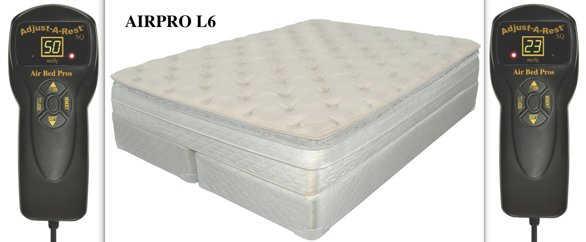 AIRPRO L6 Air Bed Compare to Sleep Number® p6 Bed