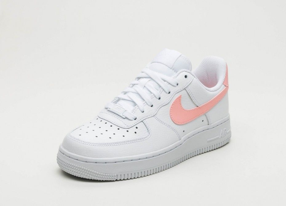 huge selection of 6db56 494f5 Nike Air Force 1 Femme Blanc Rose