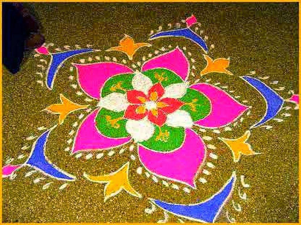 best rangoli design hd free wallpaper