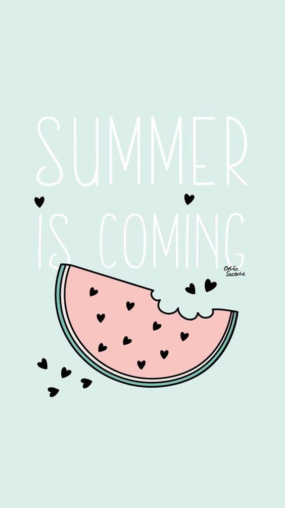 [FREEBIES] Fonds Du0027écran « Summer Is Coming »