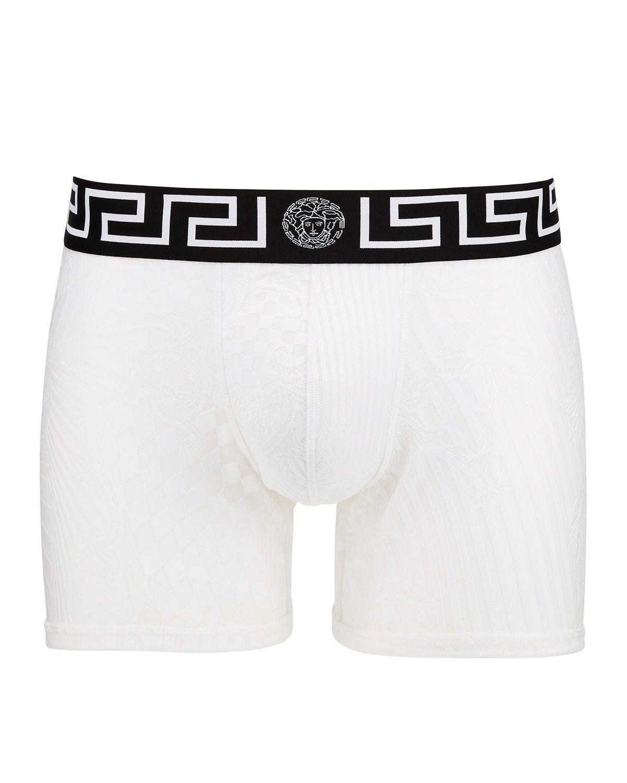 8c24b9189f VERSACE MEN'S LONG MESH BOXER BRIEFS. #versace #cloth | Versace ...