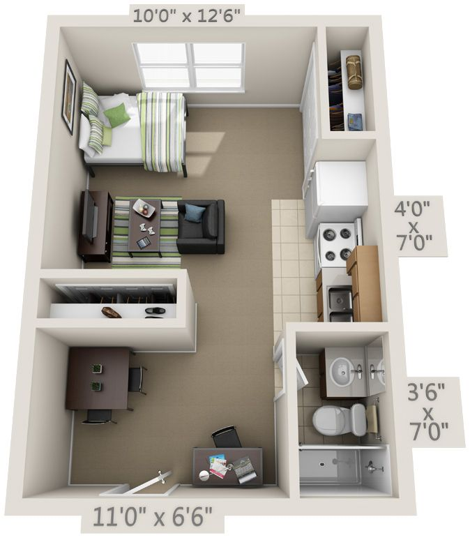simple 3 bedroom house plans%0A Here at College Park Gainesville  we lease studio  one bedroom  two bedroom      Tiny House PlansFloor Plans