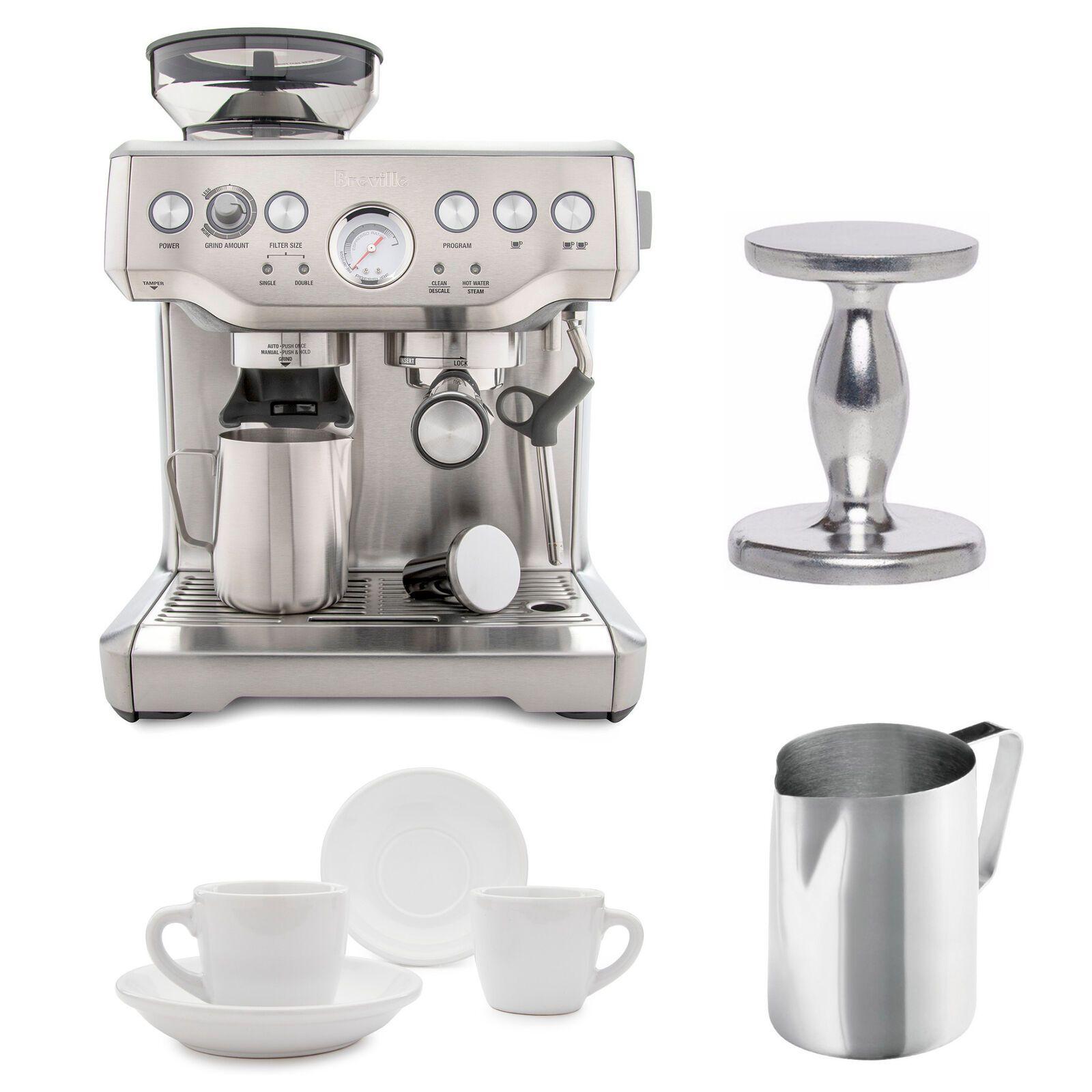 Details About Breville Bes870xl Barista Express Espresso Machine With Accessory Bundle In 2020 Espresso Machine Reviews Espresso