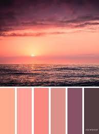 """Картинки по запросу """"sunset color palette"""" в 2019 г ..."""