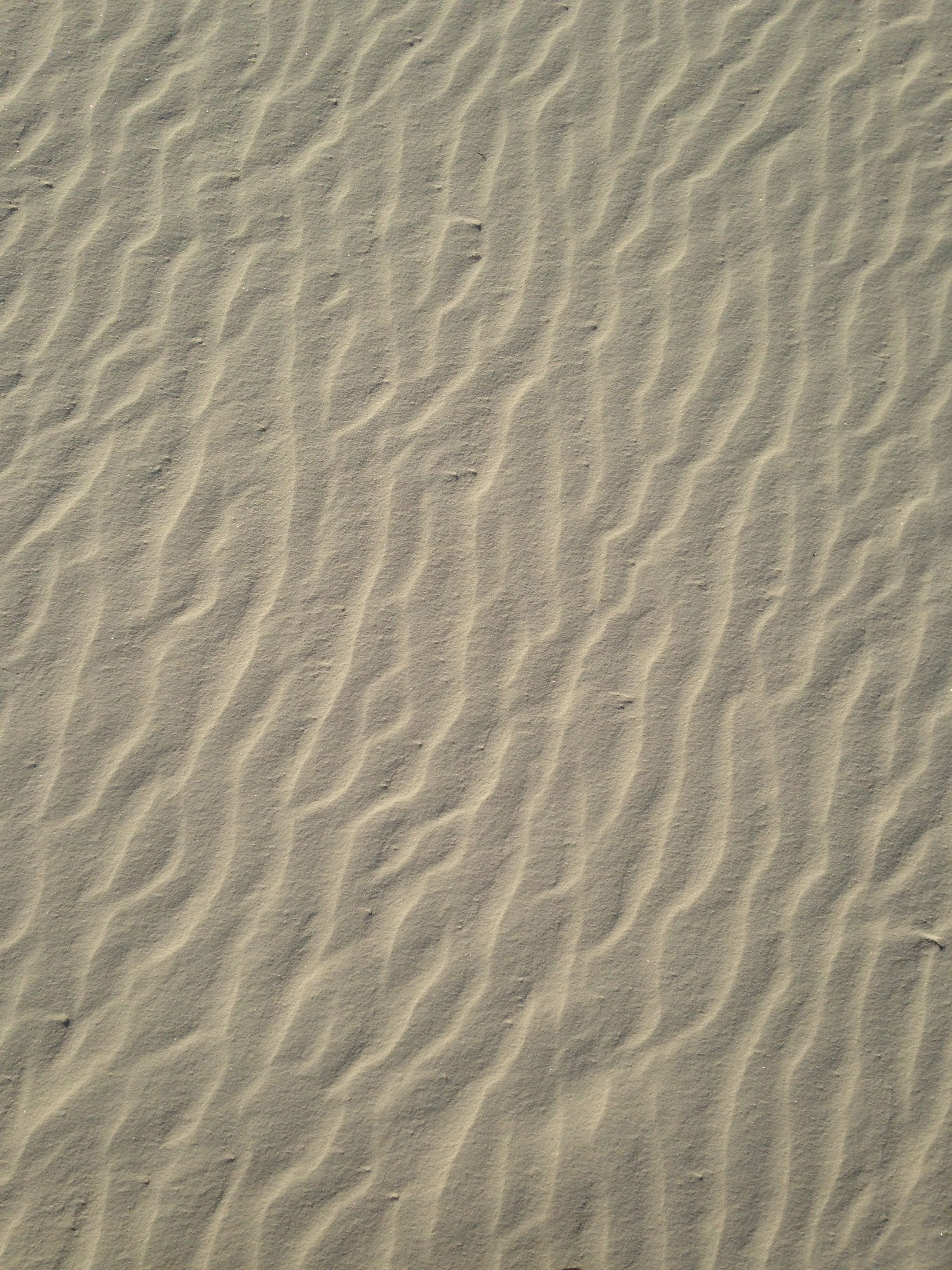 White sand in New Mexico