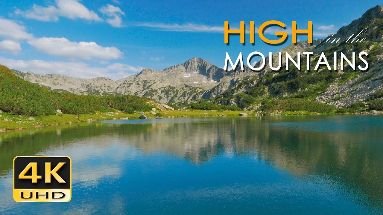 4k High Mountains Beautiful Nature Video Relaxing Natural Sounds Beautiful Nature Video 4k Wallpaper Nature Nature Gif