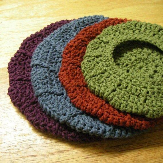 Crochet Hat Pattern Beret : Best 25+ Crochet beret pattern ideas on Pinterest ...