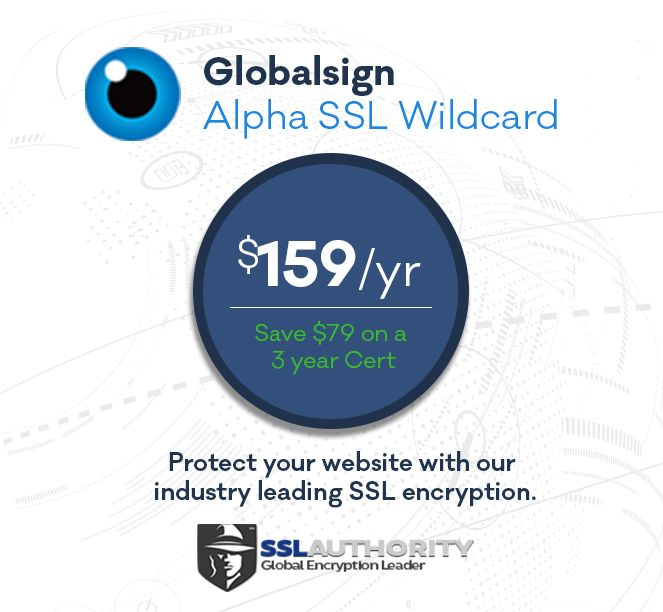 Buy GlobalSign Alpha Wildcard SSL at Deep Discounted Prices from ...
