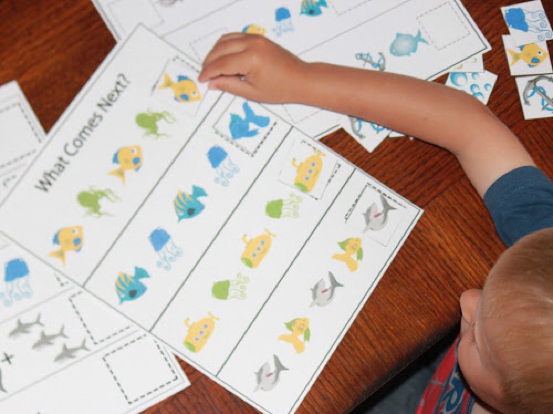 Shark Printable Worksheets