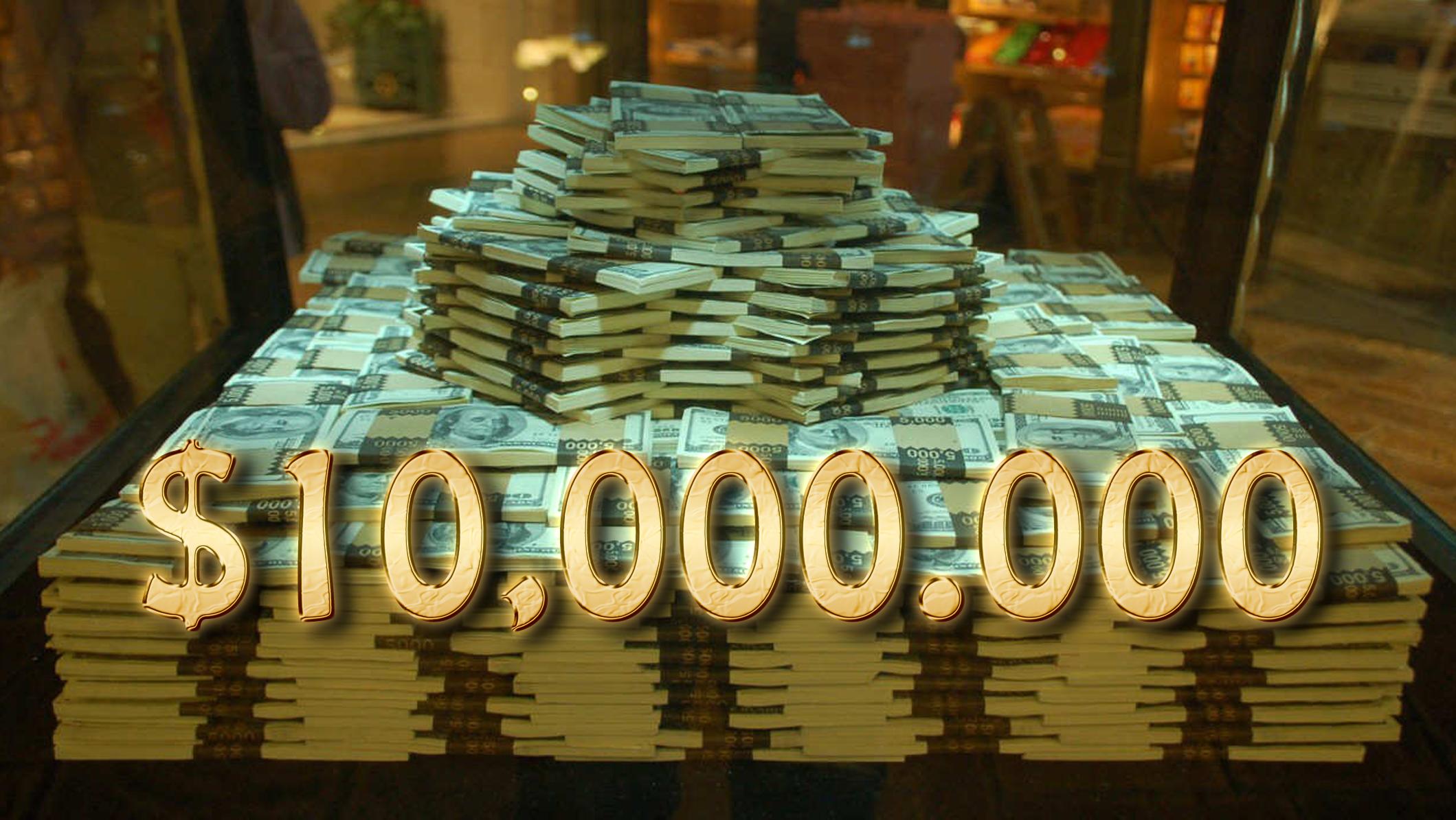 10 million dollars in 2019 money stacks gold money money affirmations. Black Bedroom Furniture Sets. Home Design Ideas