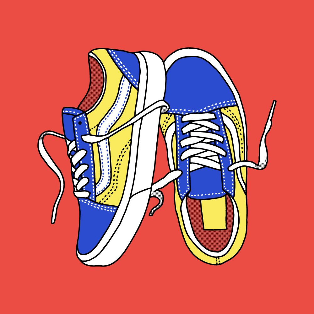 When all this is over, there's a few pair of shoes I'm going to have to apologise to for neglecting. Unless its gym trainers, the Vans haven't been touched. We will meet again soon @vans_europe.   #vans #trainers #skater #sk8 #illustration #shoes #instashoes #vanseurope #handdrawn #wacom #vector #graphicdesign #design