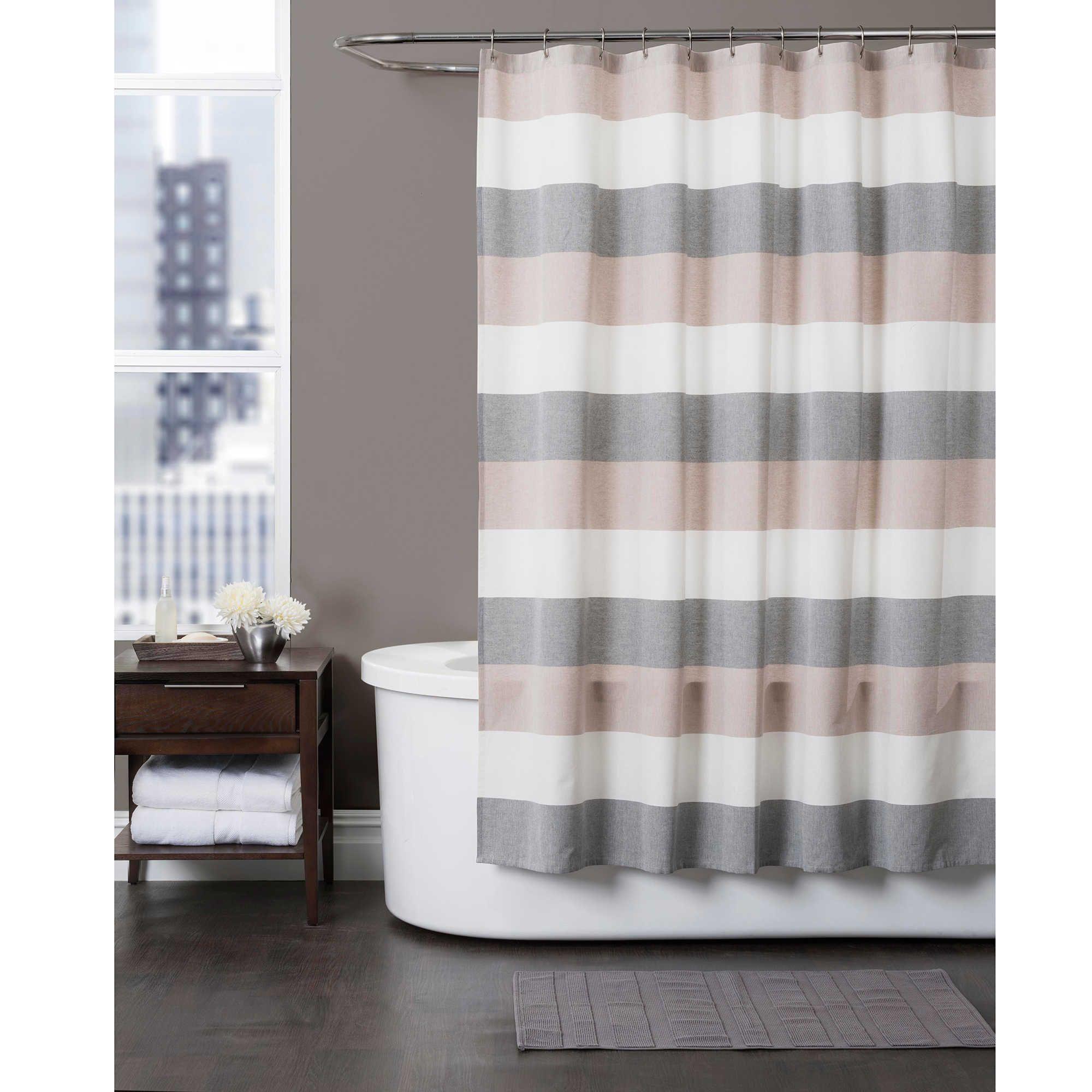 Ye Yellow Hookless Shower Curtains