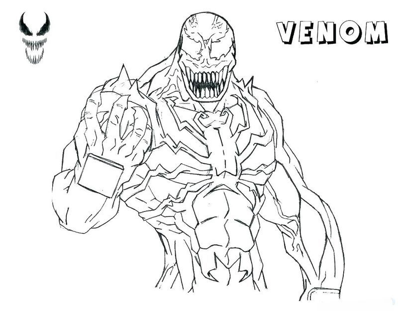 Carnage Venom Coloring Pages Coloring Pages Coloring Pages To Print Printable Coloring Pages