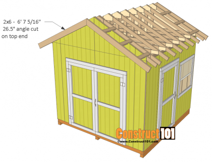 Shed Plans 10 10 Gable Shed Roof Trim Shed Plans 10x10 Shed Plans Diy Storage Shed Plans