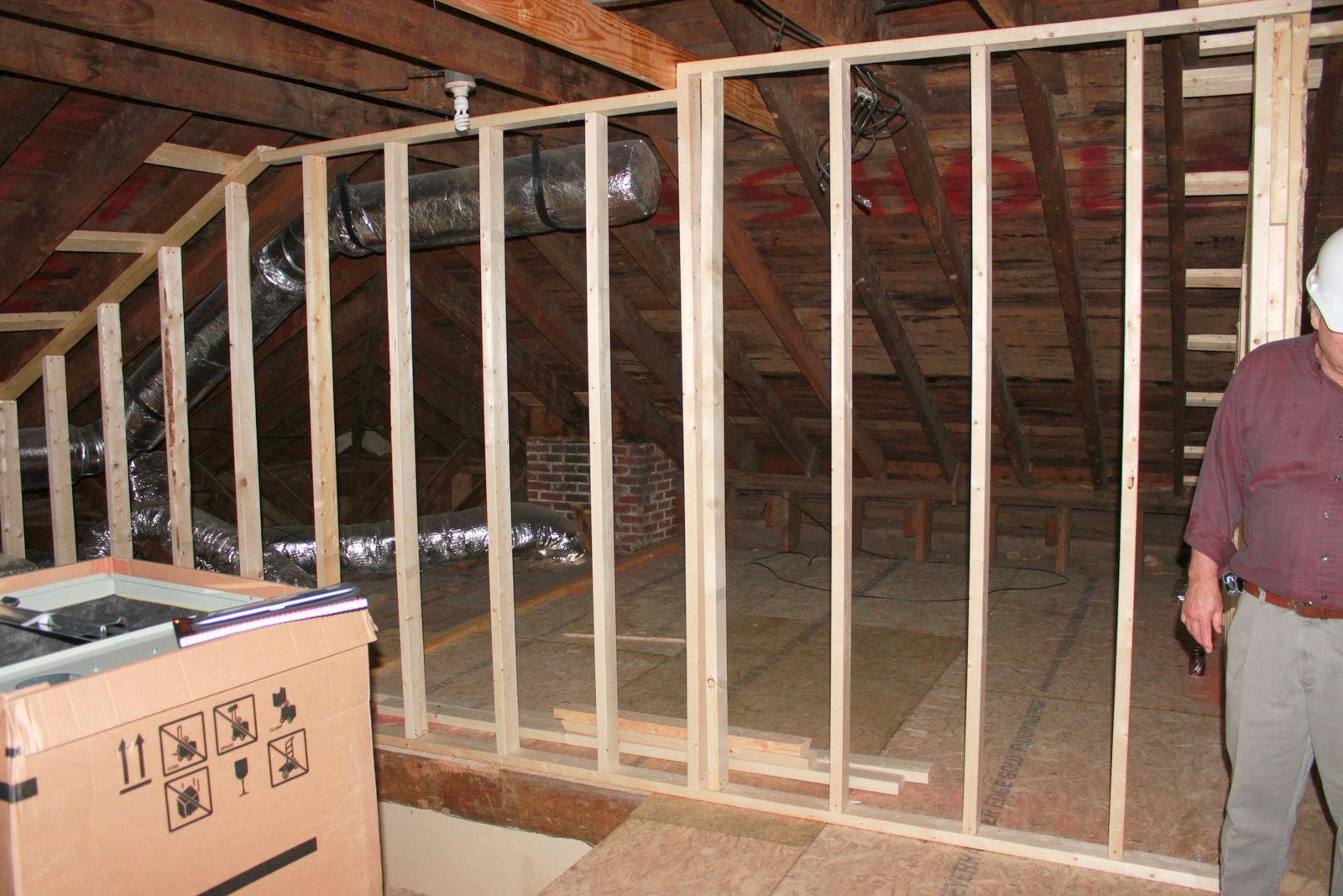 Pin by FEL on Wall framing Frames on wall, Attic rooms