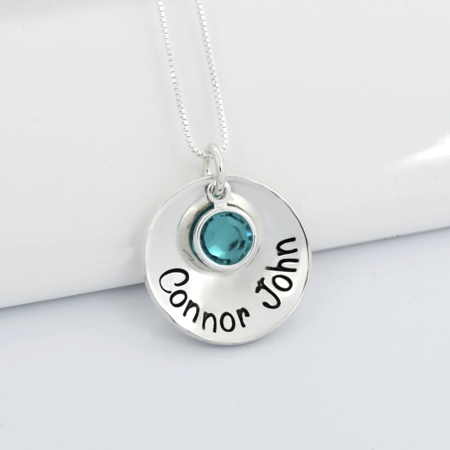 stamped mothers personalized for jewelry domed day gift mom heartfelt jewellery shop necklace tokens hand necklaces