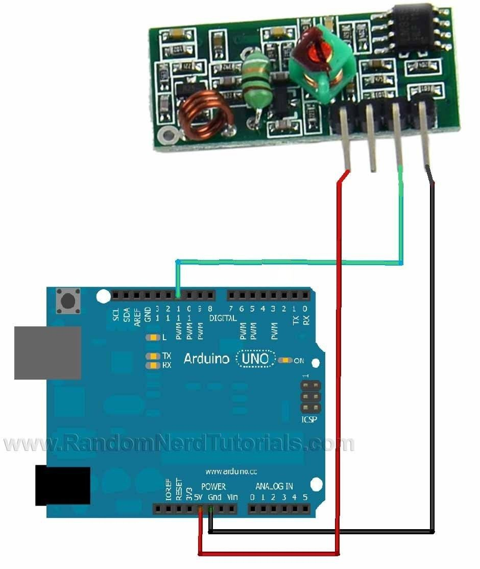 Wireless Transmitter And Receiver Circuit Diagram | This Post Aims To Be A Complete Guide For The Popular Rf 433mhz