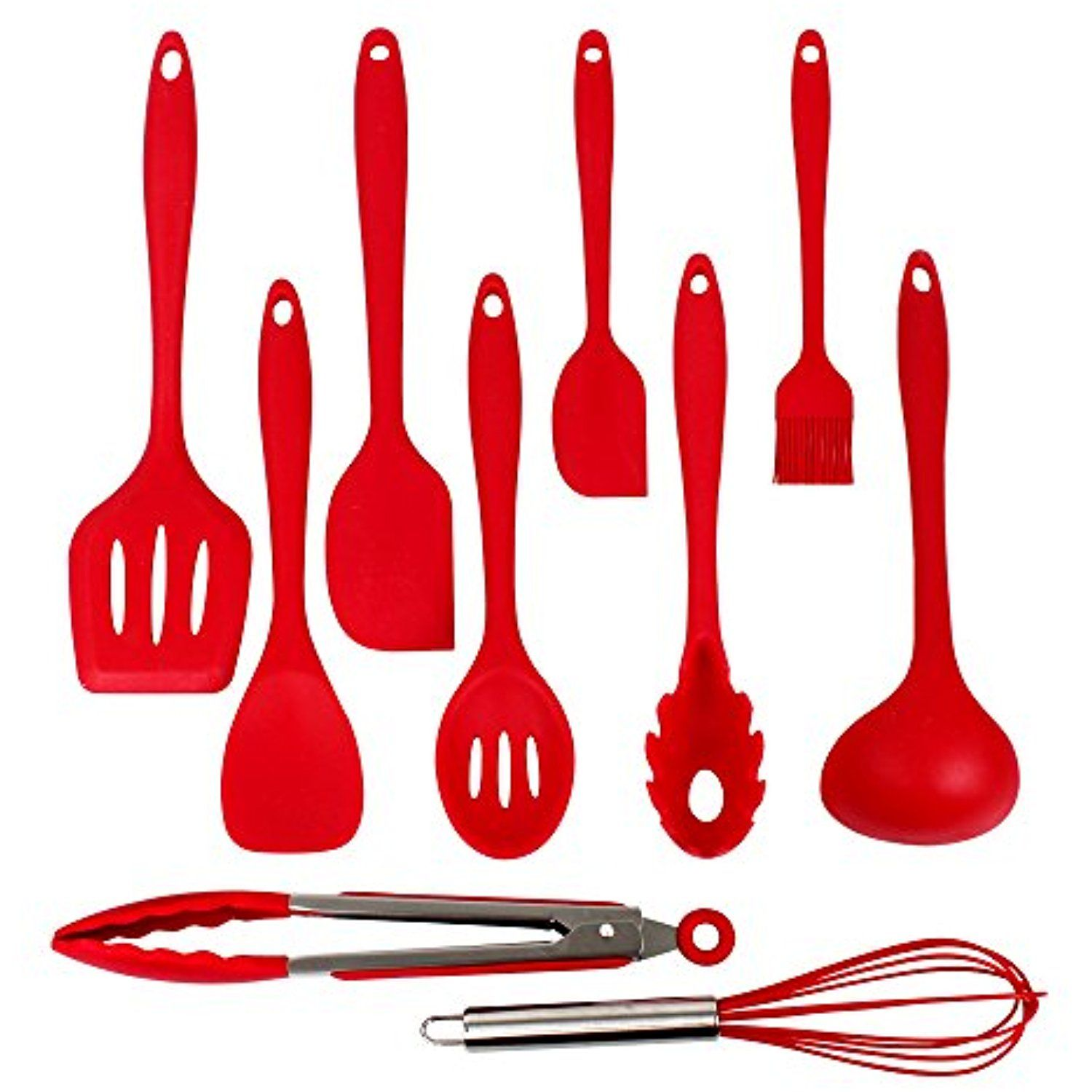 Image result for Silicone Kitchen Utensils - spatula tong
