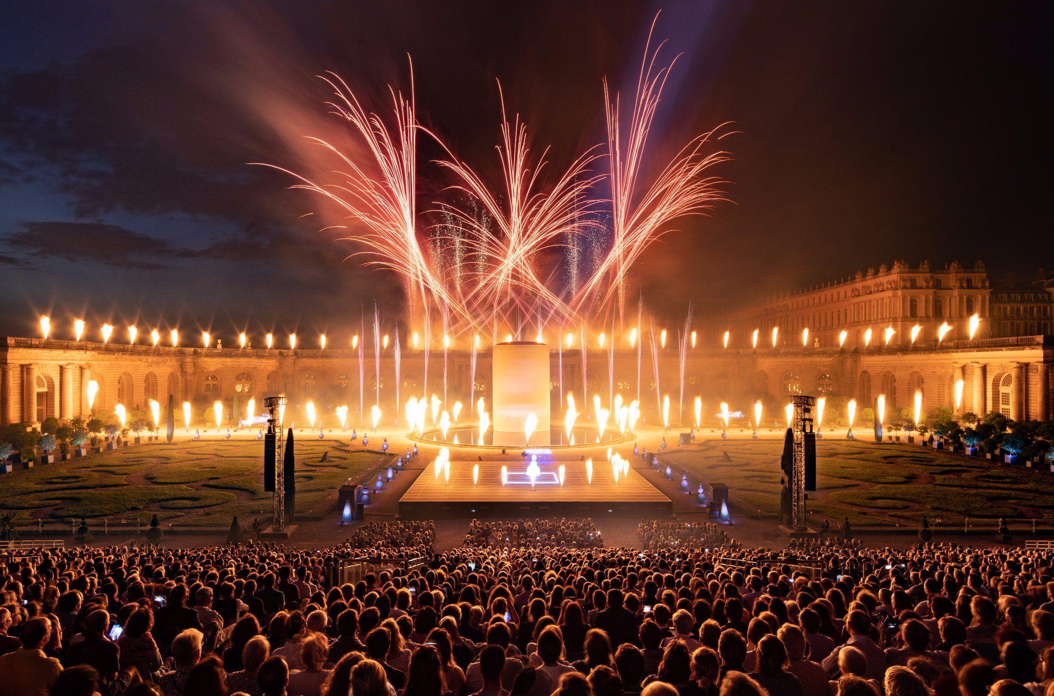Chateau De Versailles Spectacles On Avec Images Spectacle Pyrotechnique