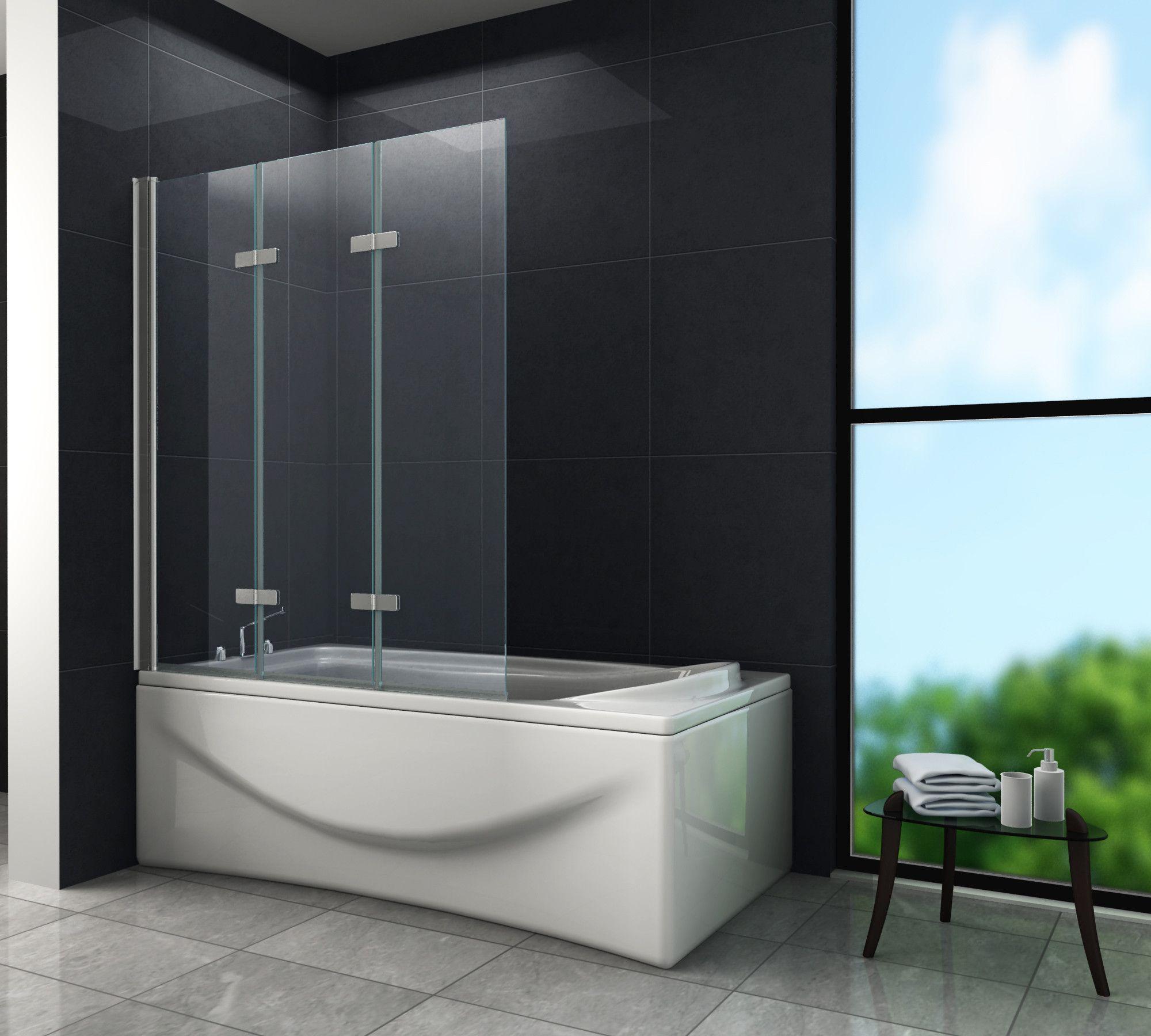 Duschabtrennung Badewannenfaltwand Esg Nano Glas Glaswand Duschtrennwand C1122 Ebay Duschabtrennung Dusche Duschwand