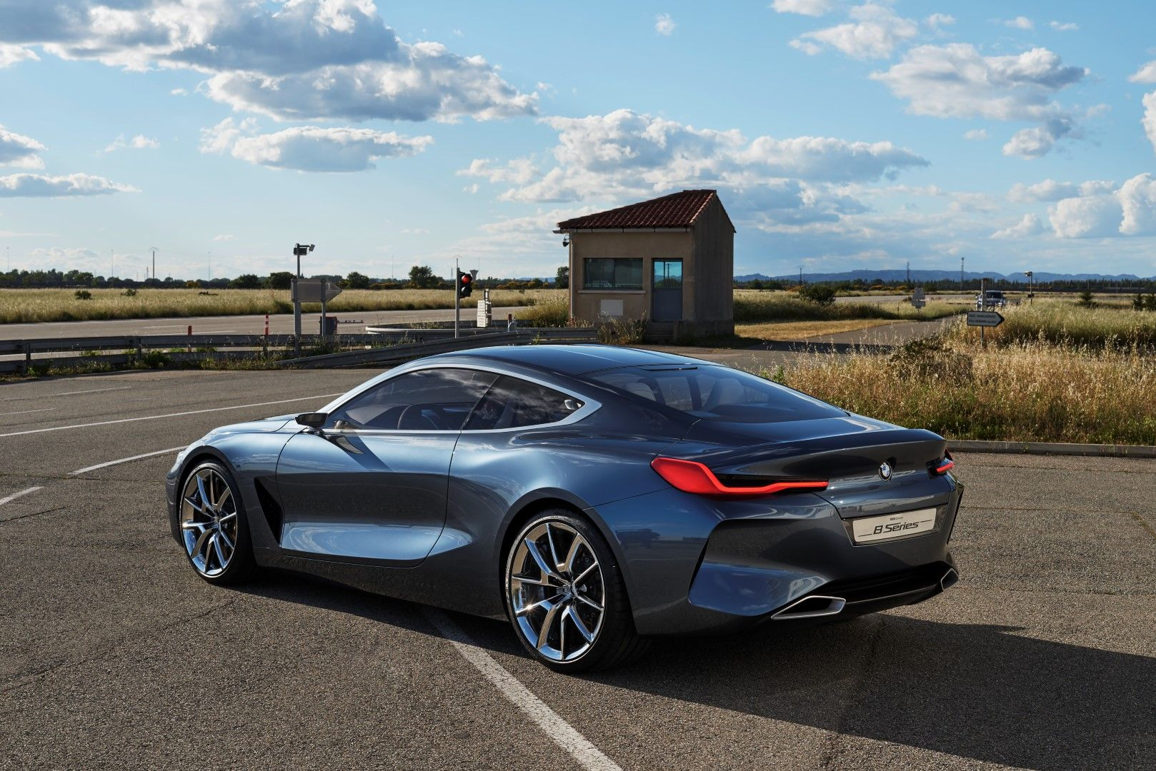 2017 Bmw Concept 8 Series A For The 2018 M8 Coupe