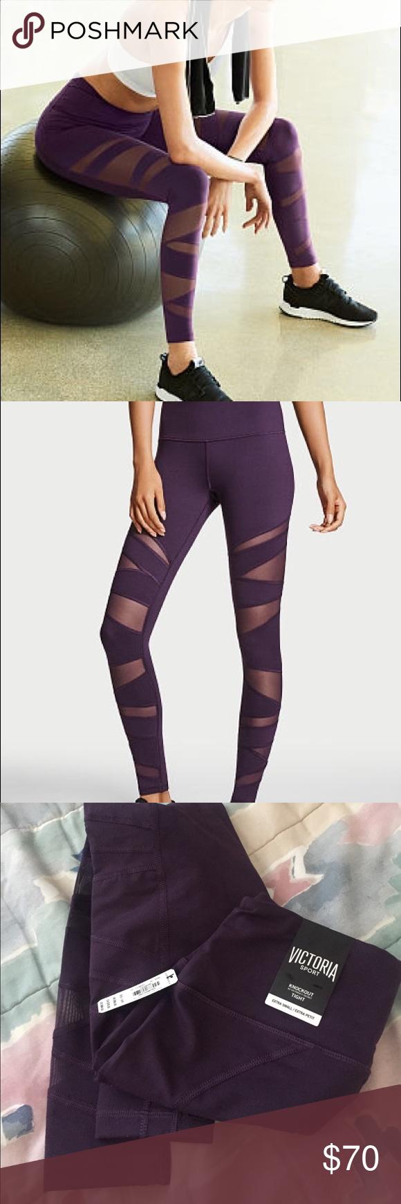 ca988d1c111e0 Victorias Secret Sport knockout mesh wrap leggings Size XS. BNWT brand new  with tags Victoria