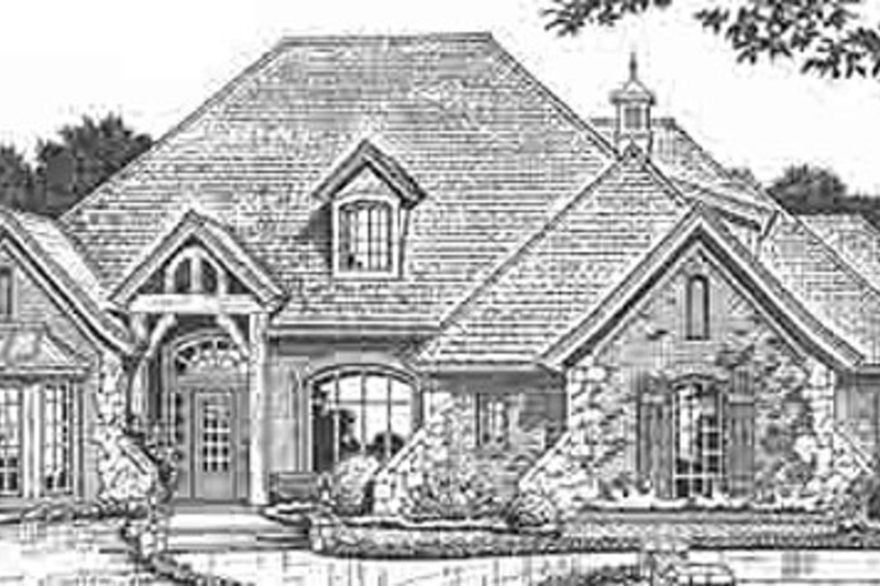 European Style House Plan 5 Beds 4 5 Baths 3320 Sq Ft Plan 310 228 Country Style House Plans French Country House Plans Monster House Plans
