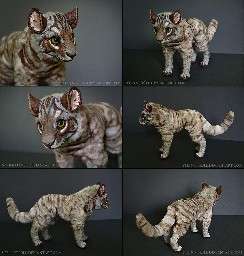 /ETSY/ Nokki the tundra cat by Steinntr0ll on DeviantArt