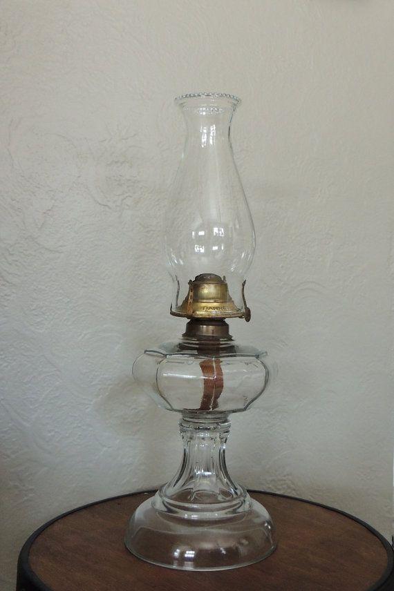 antique kerosene oil lamp 1800 39 s banner manufacturing co. Black Bedroom Furniture Sets. Home Design Ideas