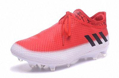 14ddf7907b8 2018 FIFA World Cup adidas Messi 16+ Pureagility FG AG red white black