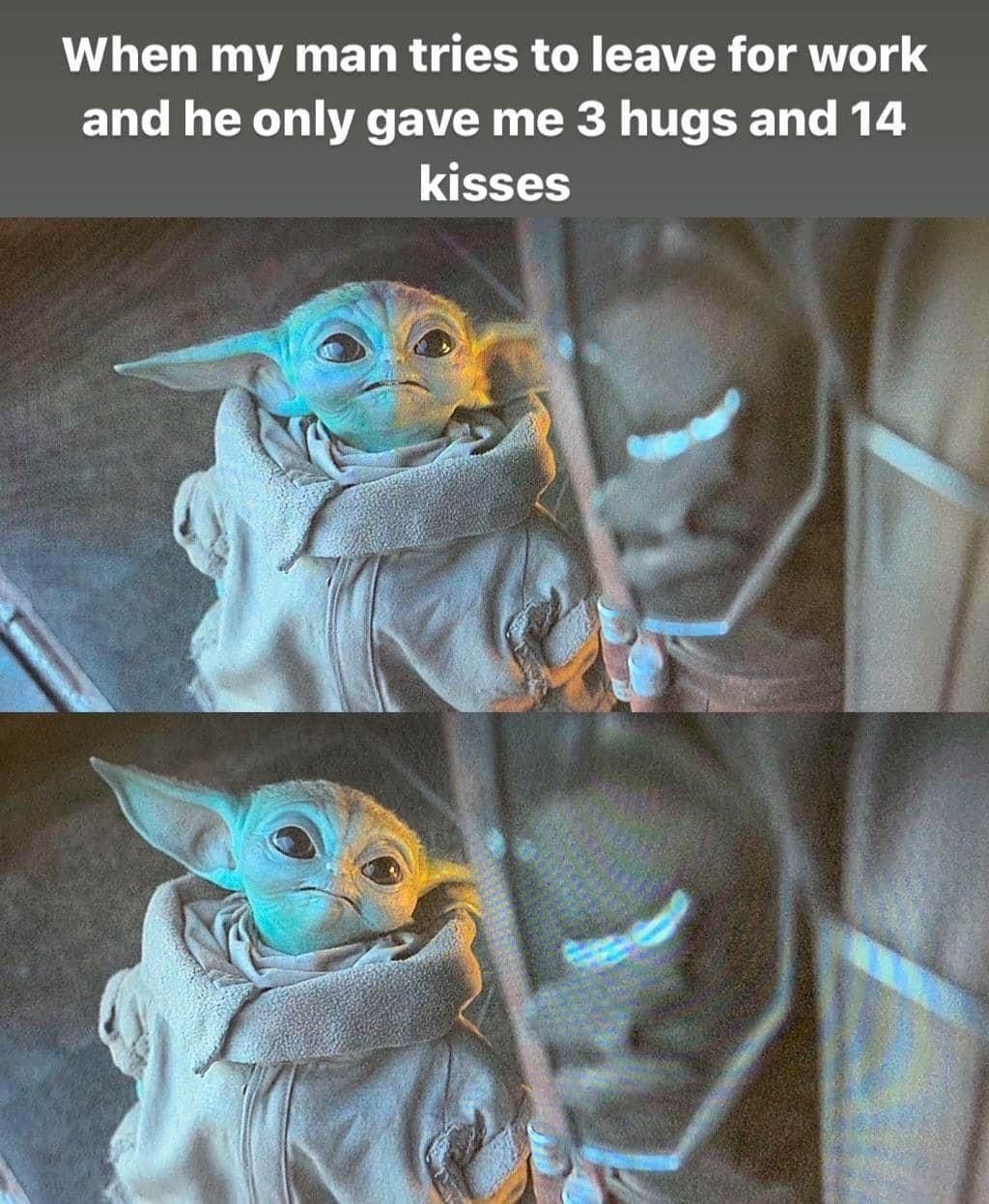Pin by Sapphire Galaxy on Baby yoda in 2020 Yoda funny