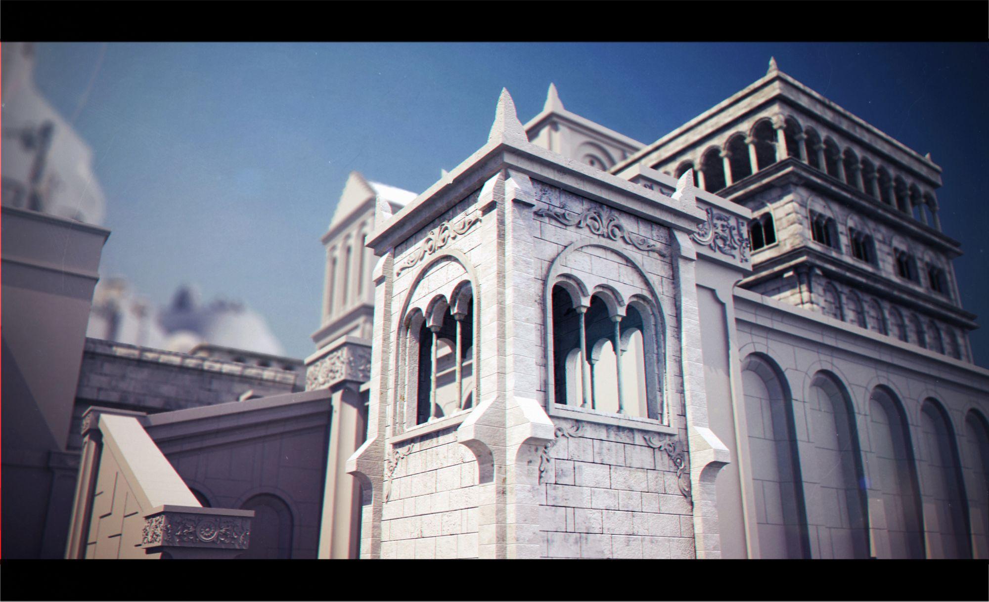 Minas tirith building google zoeken gondor for Architect zoeken