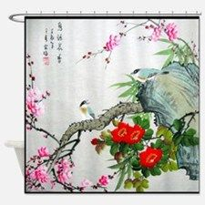 Best Seller Asian Shower Curtain For Fabric Shower Curtains
