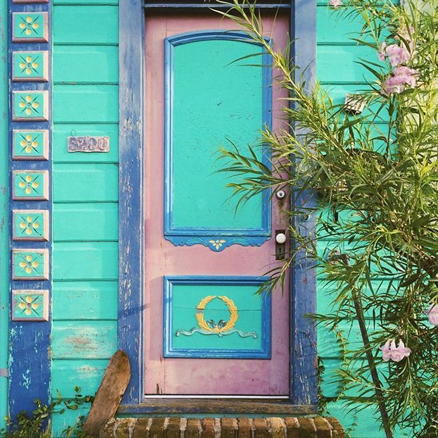 New Orleans Louisiana Color Inspiration Pinterest Doors